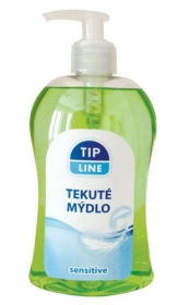 Mýdla tekutá Tip Line - sensitive / 500 ml