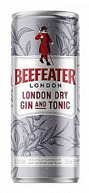Beefeater Gin and Tonic 0,25l plech 4,9%