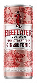 Beefeater Pink and Tonic 0,25l plech 4,9%