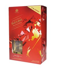 Johnnie Walker Red Label + hranaté sklo 0,7l