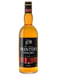 Printer`s whisky 0,7l
