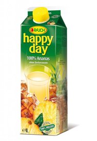 Happy day Ananas 55% 1l Tetra pak